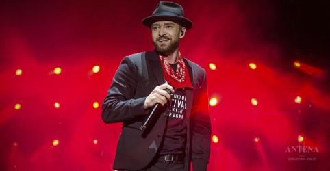 Justin Timberlake é o Artista da Semana