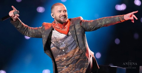 Justin Timberlake homenageia Prince em show no Super Bowl