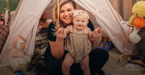 Kelly Clarkson fala sobre maternidade