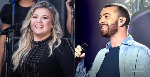 Placeholder - loading - Imagem da notícia Kelly Clarkson pode cantar com Sam Smith