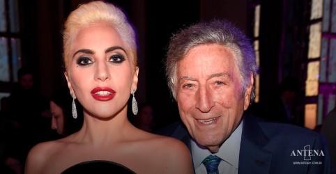 Placeholder - loading - Imagem da notícia Tony Bennett e Lady Gaga divulgam novo álbum de I Get a Kick Out of You