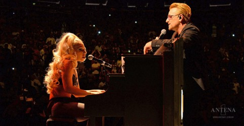 Lady Gaga pode participar de disco do U2