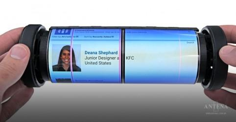 Placeholder - loading - Imagem da notícia Conheça o tablet com tela flexível