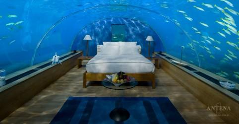 Placeholder - loading - Imagem da notícia Suíte subaquática nas Maldivas será inaugurada