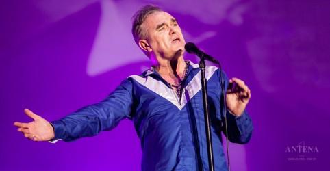 Veja Morrissey em performance ao vivo de nova faixa