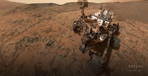 Veículo espacial em Marte despertava ao som de cantores internacionais