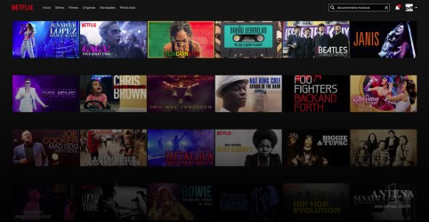 Placeholder - loading - Imagem da notícia Documentários musicais disponíveis na Netflix