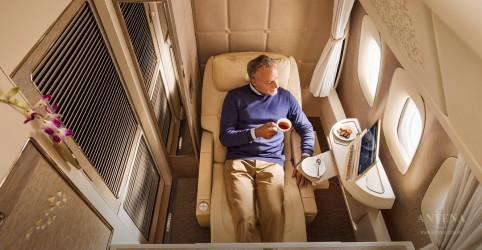 Placeholder - loading - Imagem da notícia Emirates traz novidades na primeira classe de luxo