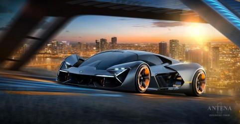Placeholder - loading - Imagem da notícia Conheça carro futurista da Lamborghini