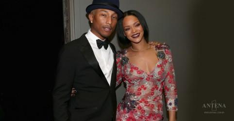 Placeholder - loading - Imagem da notícia Pharrell Williams e Rihanna fazem parceria
