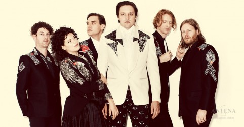 Show do Arcade Fire com a Antena 1