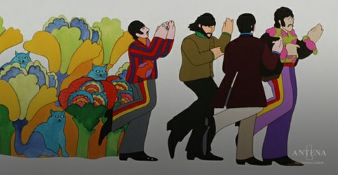 Longa Yellow Submarine, dos Beatles, retorna aos cinemas