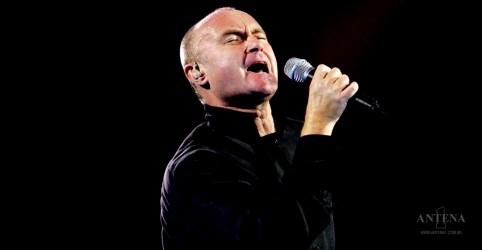 Phil Collins no Brasil em 2018; entenda