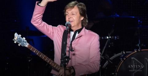 Paul McCartney anuncia início de nova turnê