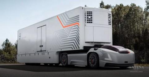 Conheça protótipo de caminhão da Volvo