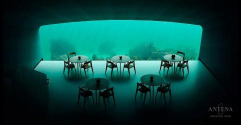 Conheça o primeiro restaurante submarino da Europa