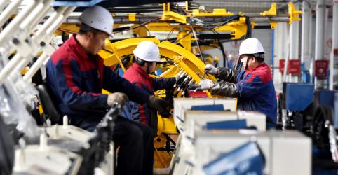 Placeholder - loading - Atividade industrial da China sobe em novembro, mas demanda de clientes cai, mostra PMI do Caixin