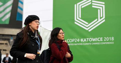 Líderes chegam à Polônia em busca de ações para acordo climático da ONU