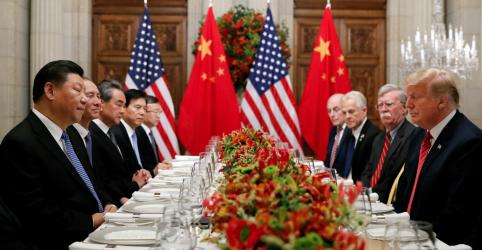 Trump: se não for possível nenhum acordo comercial com China, 'eu sou um homem tarifa'