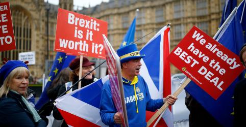 Placeholder - loading - Imagem da notícia Acordo de May para o Brexit é alvo de críticas após publicação de parecer jurídico