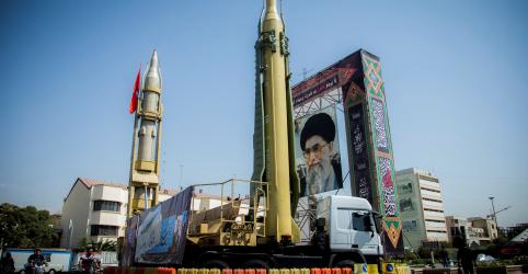 Irã diz ter testado míssil balístico recentemente