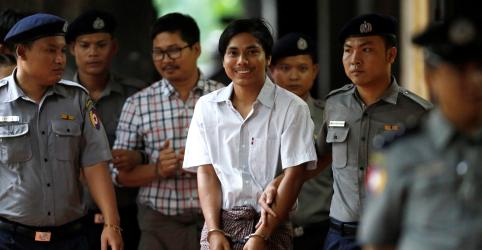 Revista Time escolhe jornalistas, incluindo repórteres presos da Reuters, como 'Pessoa do Ano'