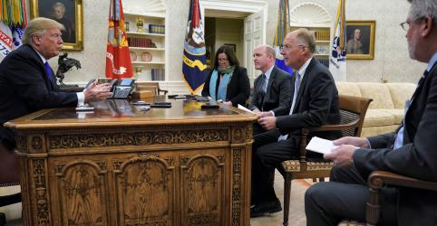 EXCLUSIVO-Trump diz não temer impeachment e defende pagamentos a mulheres