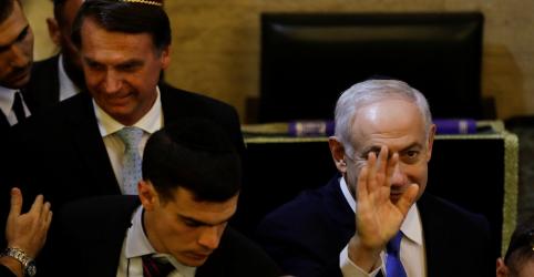 Placeholder - loading - Com Nehanyahu, Bolsonaro destaca afinidade ideológica com Israel e EUA