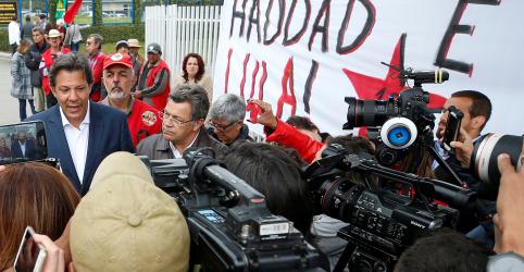 Haddad diz que Lula será um 'grande conselheiro' em seu governo, mas não é provável que participe diretamente