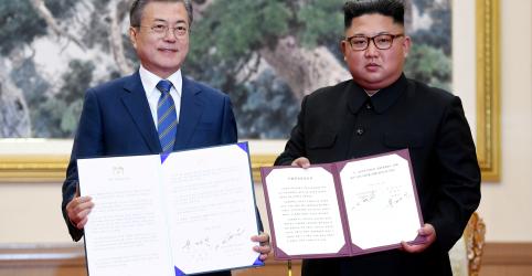 Placeholder - loading - Imagem da notícia Coreias concordam em buscar candidatura conjunta para sediar Olimpíada de 2032