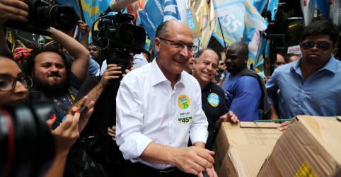 Placeholder - loading - Imagem da notícia Alckmin diz que Haddad já está no 2º turno, mas falta decidir quem será adversário de petista