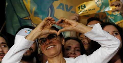 Marina diz que campanha começou com entrada de Haddad na disputa e critica voto útil