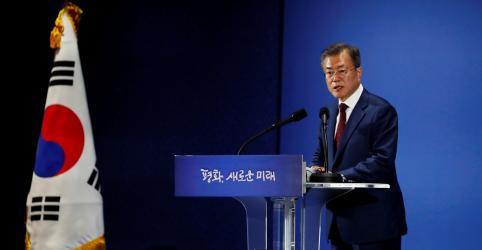 Placeholder - loading - Líder norte-coreano quer 2ª cúpula com Trump para acelerar desnuclearização, diz Moon