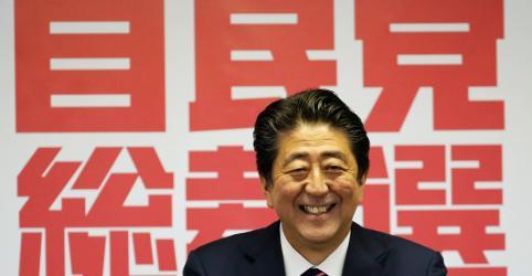 Abe se mantém como premiê japonês com vitória em disputa por liderança partidária