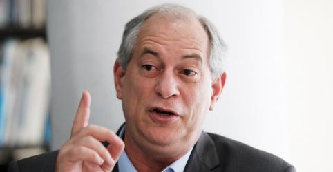 Ciro diz que Bolsonaro não terá coragem de implementar agenda ultra liberal de Paulo Guedes
