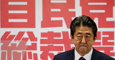 Premiê do Japão relata primeira rodada de conversas comerciais construtivas com Trump