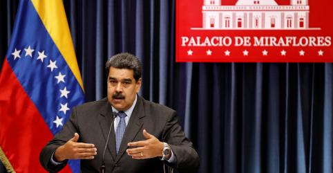 Placeholder - loading - Imagem da notícia Maduro acusa Chile, Colômbia e México de auxiliarem ataque com drone