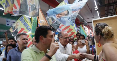 Alckmin aposta em decisão do eleitor no 'finalzinho' e rejeita mudar estratégia
