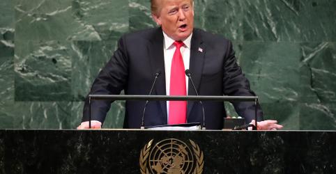 Placeholder - loading - Trump chama Irã de 'ditadura corrupta' em discurso duro na ONU