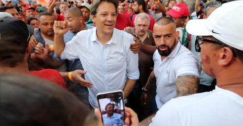 Quem rompeu pacto democrático foi PSDB, diz Haddad ao responder propaganda tucana