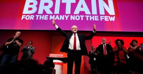 Placeholder - loading - Imagem da notícia Partido Trabalhista votará contra plano de May para o Brexit, diz líder