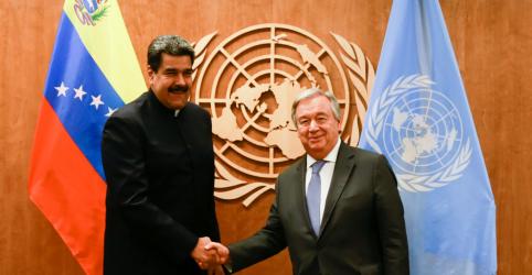 Maduro diz que chefe de direitos humanos da ONU será bem-vinda à Venezuela