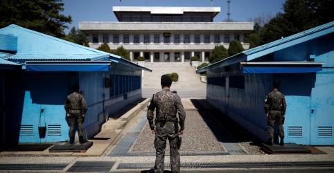 Placeholder - loading - Imagem da notícia Coreia do Sul e Coreia do Norte começam a remover minas terrestres de fronteira