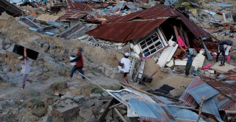 Placeholder - loading - Indonésia se mobiliza para resgatar sobreviventes de terremoto; número de mortos vai a 844