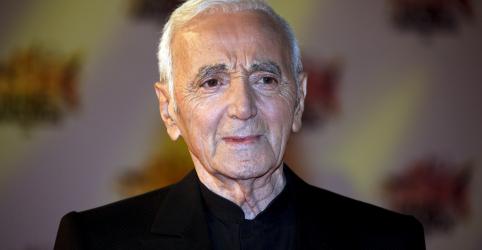 Cantor francês Charles Aznavour morre aos 94 anos, diz mídia