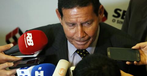 Placeholder - loading - Coligação aceitará resultado mesmo em caso de derrota, diz vice de Bolsonaro