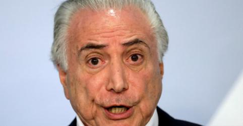 Placeholder - loading - Imagem da notícia Temer apoiou pressão para Lula nomear diretor da Petrobras, diz Palocci em delação