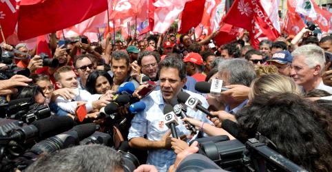 Placeholder - loading - Imagem da notícia PT muda agenda e Haddad volta ao Nordeste para conter crescimento de Bolsonaro na região