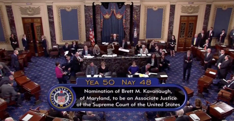 Placeholder - loading - Imagem da notícia Senado confirma Kavanaugh para a Suprema Corte após debate que agitou os EUA