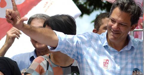 Placeholder - loading - Imagem da notícia Projeto de Bolsonaro fará eleitor sentir saudade de Temer, diz Haddad